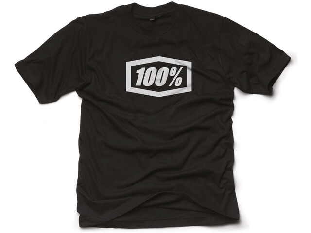 100% Essential T-Shirt Heren, black